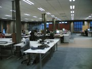 ciężka praca w biurze