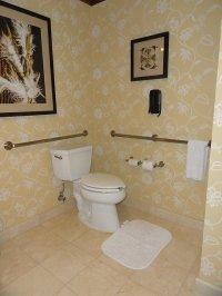 wyposażenie toalety publicznej